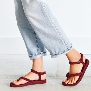Teva Shoes - 🔥flash sale NWOB Zinfandel suede braided  teva