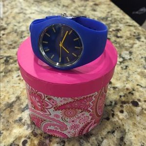 Geneva Other - Blue Silicone Girl 's Watch/New