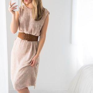 Dresses & Skirts - NoHo Raw Edge Midi *LAST 1!