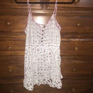 BKE Tops - Buckle BKE lace / crochet tank