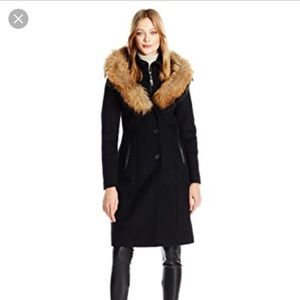 Mackage Jackets & Blazers - 🌟SALE🌟Mackage Mila Wool Coat w/ Fur Hood sz M