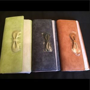 Handbags - NEW-Soft Trifold Clutch Wallet