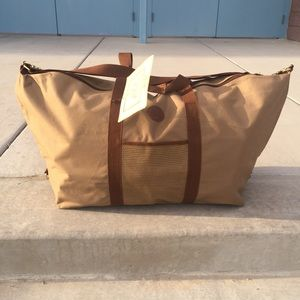 Ralph Lauren Men's Large Canvas Duffle Bag 30""