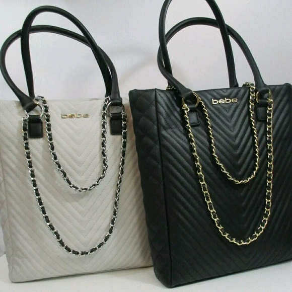 195ef38cf1 ... QUILTED TOTE $91 faux leather. NWT. bebe. M_58ed825da88e7d49d7028552.  M_58ed825f2fd0b7a3e9087e18. M_58ed825da88e7d49d7028552;  M_58ed825f2fd0b7a3e9087e18