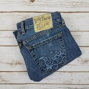 Lucky Brand Denim - {Lucky Brand} Cuffed Crop Jean Size 6