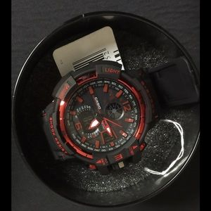 G-Shock Other - New Red Chrome GSHOCK Watch