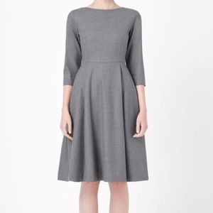 COS  Dresses & Skirts - NWOT COS Fitted Wool Dress