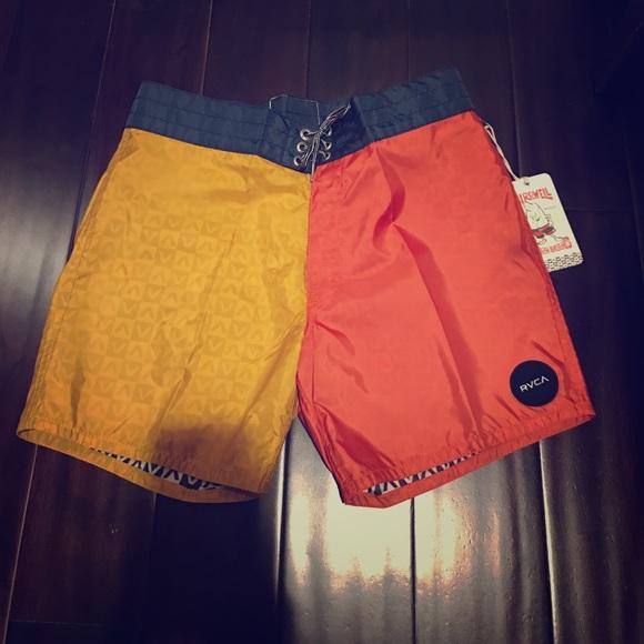 72070ba389 RVCA Swim | Birdwell X Board Shorts | Poshmark
