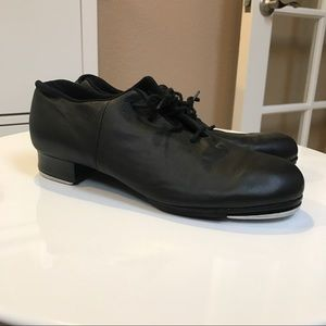 Bloch Shoes - Bloch Leo Jazz Tap Shoes in Black