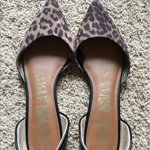 Sam and Libby for Target leopard flats