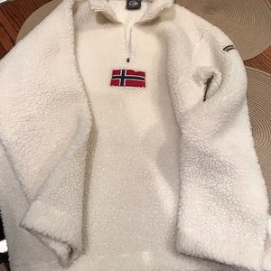 Napapijri Jackets & Blazers - Napapijri fleece pullover size Large