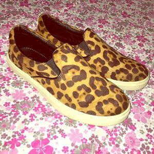 Candie's Shoes - Cheetah Print Slip Ons
