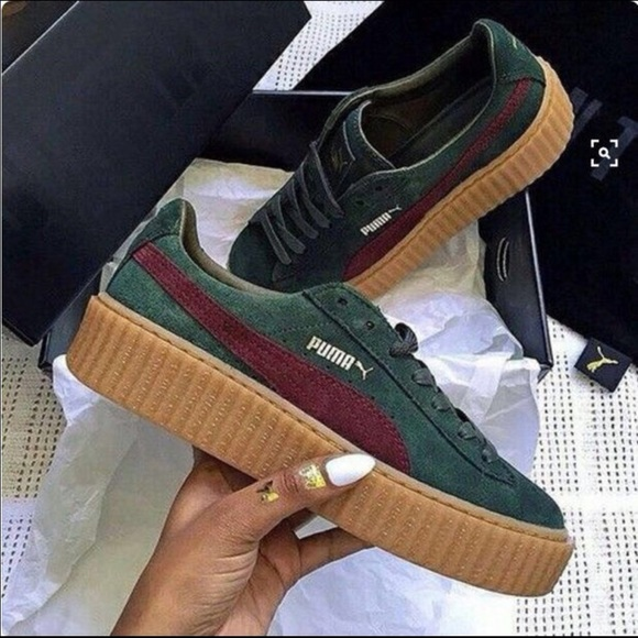 6ecfb2bc56fc ... Rihanna X Fenty Puma creepers. M 58ed8ccceaf030479108d6d1. Other Shoes  ...