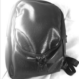 Original Paperbacks Handbags - Black leather backpack
