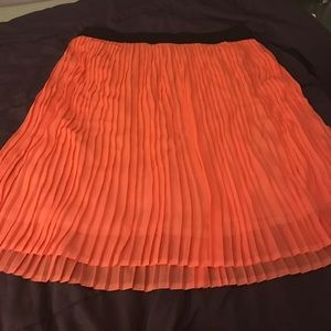 SWAK Dresses & Skirts - Coral Pleated Swak Skirt