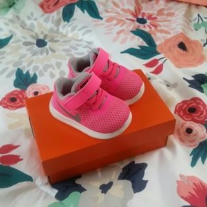 Nike Other - Adorable baby pink nike free run shoes!! Size 2
