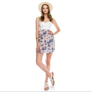 The Blossom Apparel Dresses & Skirts - Floral Printed Strappy Dress