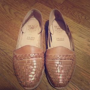 Will Leather Goods Shoes - Will Leather Good-  Leather Weave Sandal