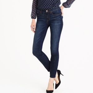 Jcrew toothpick jeans in clanton wash 27petite