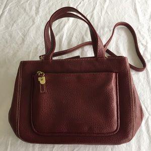 Relic Handbags - .Relic. Maroon handbag with shoulder strap