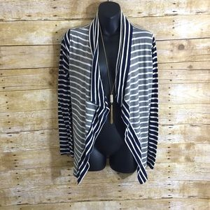 market & spruce Sweaters - {Stitch Fix} Striped Cardigan