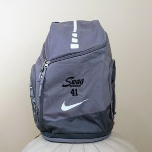 Nike Elite Grey Max Air Large Swag Backpack
