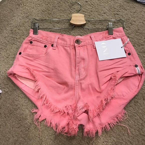 One Teaspoon Shorts - One Teaspoon Pink Bandits! BNWT size 24!