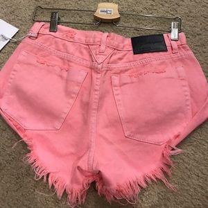 One Teaspoon Shorts - One Teaspoon Pink Bandits! BNWT size 24!