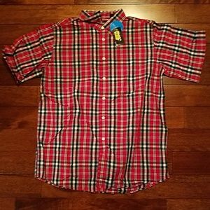 Class Club Other - Men's Short Sleeved Button Down