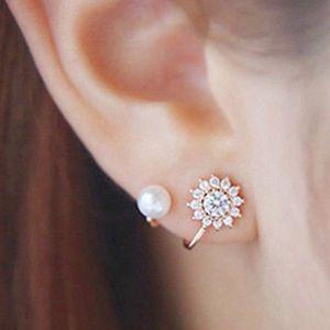 Karen1177 Jewelry - Just In🍃 Petite Rhinestones & Pearls Earrings🍃