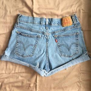 Levi's Pants - LEVI Cut-Offs, High Waist Vintage denim ❤️