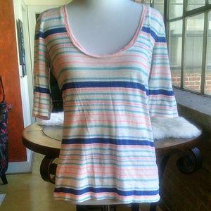 J. Crew Factory Striped T-Shirt, S