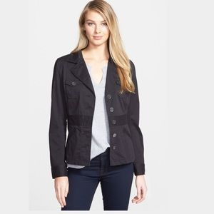 Two by Vince Camuto Jackets & Blazers - Two By Vince Camuto Black Military Jacket