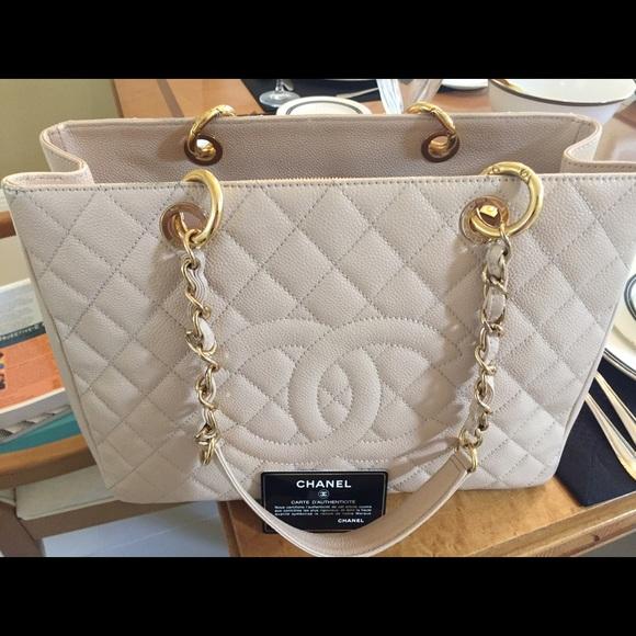 26a72072600f CHANEL Bags | Gst Grand Shopping Tote Caviar Leather | Poshmark
