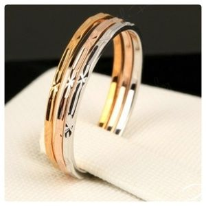 GP/PP Set of 3 stackable rings NWT