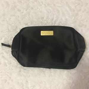 Dolce & Gabbana Handbags - Dolce & Gabbana Black Cosmetic Bag With Mirror