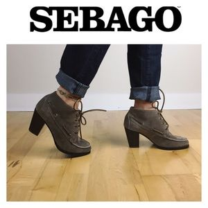 Sebago Shoes - 🔥ALLBOOTS$35💸2x$49🔥SEBAGO TAUPE 100% LEATHER