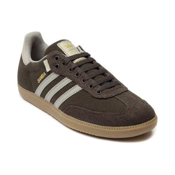 Adidas Shoes Samba Hemp SneakersPoshmark  Samba Hemp Olive Green Gum Sole 12 Nwob