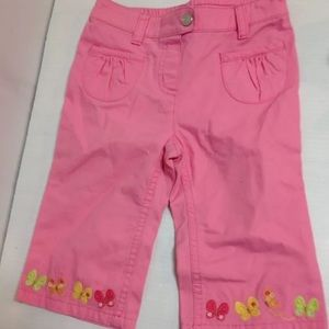 Gymboree Other - Social butterfly Gymboree pink jeans