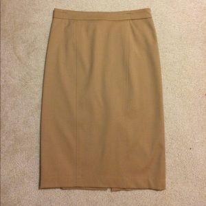 Harve Benard Dresses & Skirts - Harve Benard Camel Color Wool Skirt