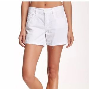 MOTHER Pants - New Mother cotton dropout cuff short, 27,28,31