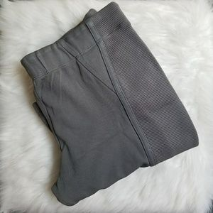 BCBGMaxAzria Pants - BCBG Moto Grey Leggings Size Large