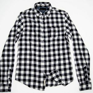 Scotch & Soda Other - SCOTCH &SODA BUTTON UP SHIRT Gray Blue check