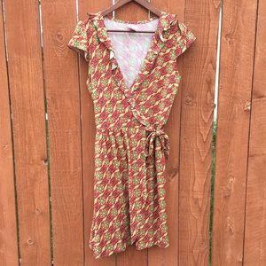 Matilda Jane Dresses & Skirts - Matilda Jane Serendipity Cheerio Wrap Dress S