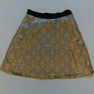 Narciso Rodriguez Dresses & Skirts - Narcisco Rodriguez for Design Nation gold skirt