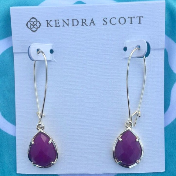earrings i kendra scott danielle tradesy jade in purple