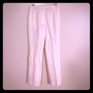 Pendleton Pants - Pendleton Off White Wool Designer Slacks Pants