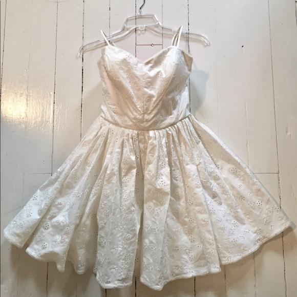 Betsey Johnson Eyelet Dress | Poshmark