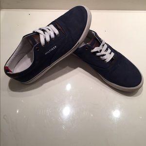 Tommy Hilfiger Other - Tommy Hilfiger Navy Blue Dock Shoes