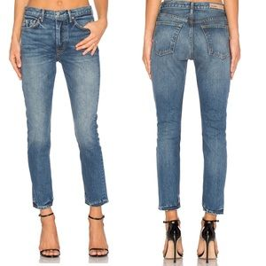 GRLFRND Denim - GRLFRND Karolina High Rise Petite Skinny Jeans